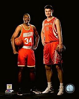 Size: 8 x 10 Hakeem Olajuwon Houston Rockets Action Photo