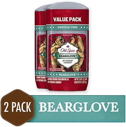 Old Spice Wild Collection Invisible Solid Antiperspirant and Deodorant, Bearglove, 2.6 Oz