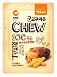 CHEW & DESSERT(100% Real Dried Roasted Sweet Potato Chew Snack) 15 Pack