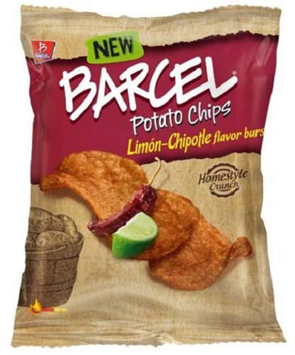 Barcel USA Potato Chips, Limon-Chipotle, 1.9 Ounce (Pack of 16)