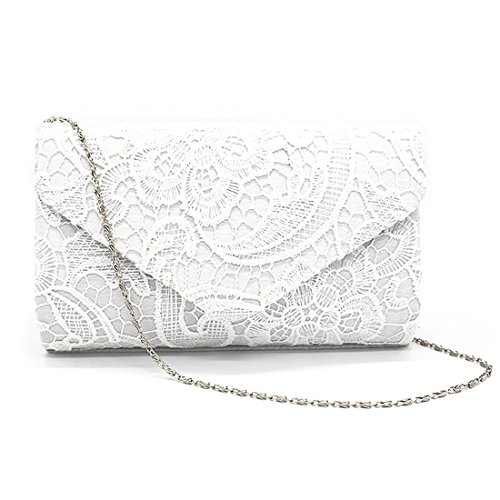 Clutch Wedding Lace Parties Purses Envelope Womens Floral For Handbags Occasions Clutch Elegant Apricot And qTEnZn