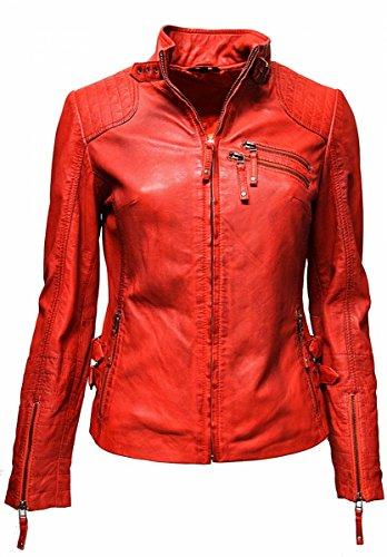 Chaqueta para Blusa mujer Ledermoden Zimmert Rojo qzpw6F