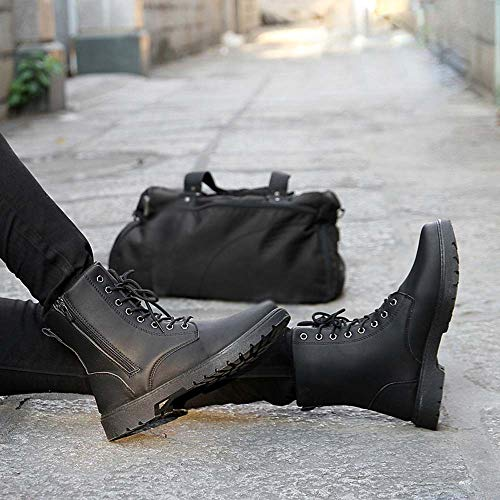 HLHN HLHN HLHN Nero Nero 40 TM Stivali Stivali Stivali Stivali Uomo xwZOw0Pq