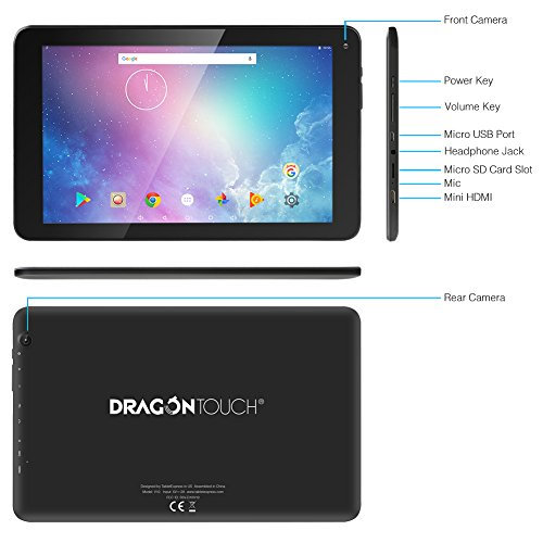 Dragon Touch V10 10 Inch Gps Android Tablet Android 7 0