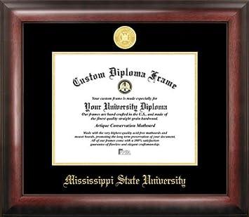 mississippi state gold embossed diploma frame - Diploma Frames