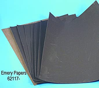 4//0 Grit EMS 62117-04 Emery Paper Pack of 10 Electron Microscopy Sciences