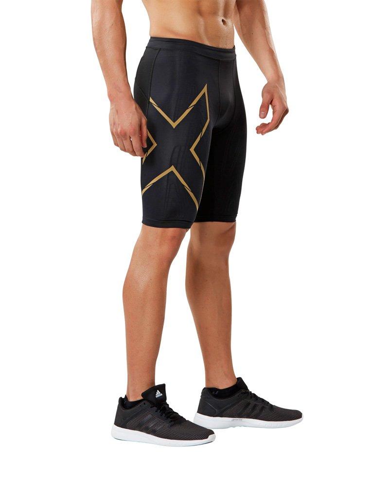 2 x u Herren MCS Kompression Run Shorts