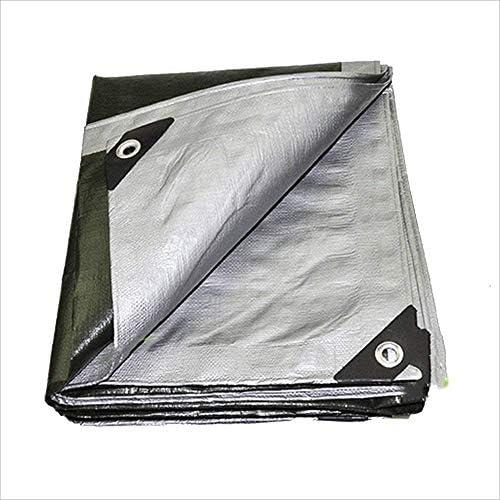 プランシックレインクロスタープ防水キャノピーキャノピーファブリックサンキャノピースーパーファブリックカバーキャノピー0.4MM-200g / m2(サイズ:10 * 12m)