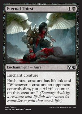Magic: the Gathering - Eternal Thirst (095/269) - Magic 2015 Common Enchantment Single Card