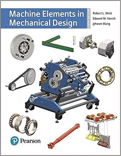 Machine Elements In Mechanical Design By Robert L Mott Pdf