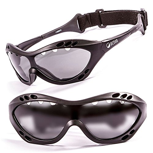 Ocean Sunglasses - Polarized Watersports Sun Glasses For Men and Women - Virtually Unbreakable Protective Eyewear For Surfing, Kitesurfing, Windsurfing, Sailing, SUP and - Ocean And Land Sunglasses