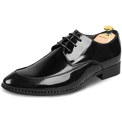 2018 Designer Wedding Shoes Man Leather White Black Oxford Formal Marriage Dress  Pointed Toe Masculine Design d572d107a504