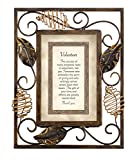 This delightful metal frame features beautiful details in warm tones and a foil-embossed message for your loved one. Full text reads: volunteer - the success of many programs rests in Volunteers, like you. Someone who embodies the spirit of giving an...
