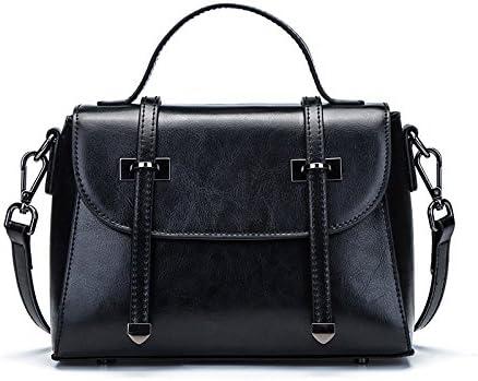 Pipulade Wax hand bag is a simple bag Pack Single shoulder bag envelope package the postman bag, Black: Amazon.es: Deportes y aire libre