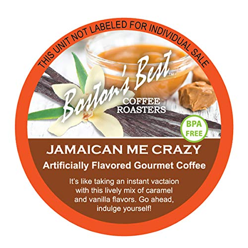 Boston's Best Single Serve K-Cup Coffee, Jamaican Me Crazy, 12 Count (Pack of 6) (Compatible with 2.0 Keurig Brewers)