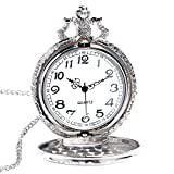 3D Train Pocket Watch, Antique Pocket Watches for