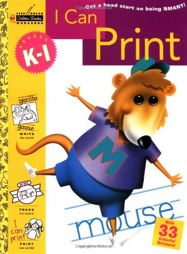 I Can Print (Grades K - 1) (Step Ahead)