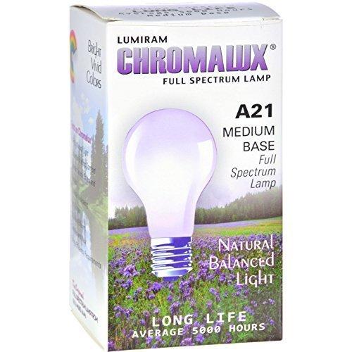 Chromalux Light Bulb Std Clear 75w bulb ( Multi-Pack) (Std Light)