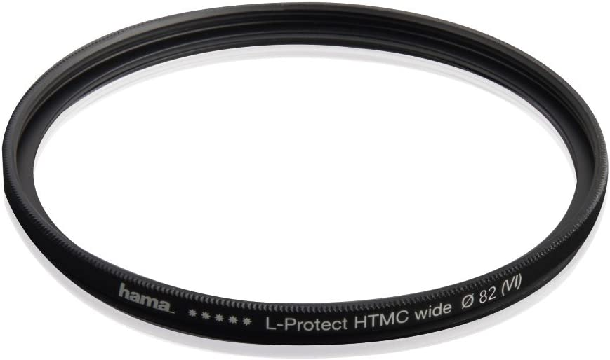 Hama HD Protective UV Filter with 3/mm Ultra-Slim Metal Frame and Front Threads