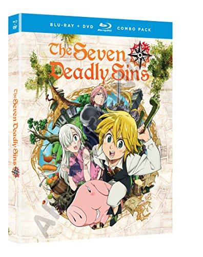 Blu-ray : Seven Deadly Sins: Season One - Part One (Boxed Set, , 4 Disc)