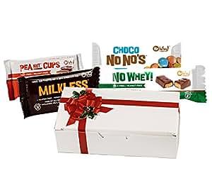 Chocolate Christmas Candy Box from Santa - Milk Free, Nut Free, Gluten Free, Soy Free, Vegan