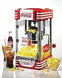 jar popper - Nostalgia RKP630COKEBUN Coca-Cola Kettle Popcorn Popper - Bonus Bundle
