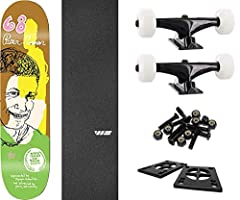 """This professional quality The Killing Floor Skateboards Tim Kerr Guest 1 Skateboard Deck measures 8.38"""" wide x 32"""" long and is suitable for every skill level from beginner to pro. A versatile deck that's perfect for street, pool, park and ver..."""