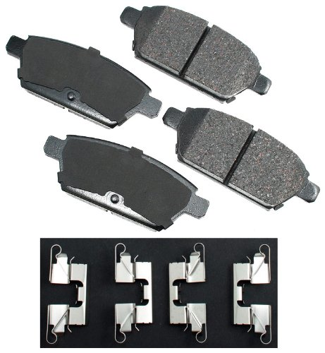 Akebono ACT1161 ProACT Ultra-Premium Ceramic Brake Pad Set