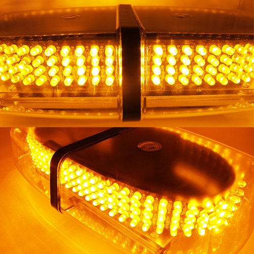ZHOL New Bright Amber 240-LED Strobe Light Warning Emergency Flashing Car Truck Construction Car Vehicle Safety #71A 4332997643