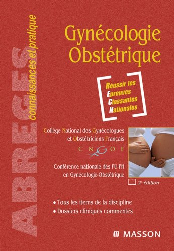 Download Gynécologie-Obstétrique (French Edition) Pdf