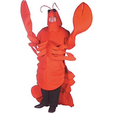Lobster Costume Size Adult Standard  sc 1 st  Amazon.com & Amazon.com: Lobster Costume Size Adult Standard: Clothing