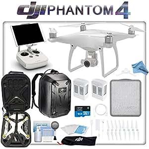 DJI Phantom 4 Quadcopter Backpack Bundle: Includes 2 Phantom 4 Batteries, Phantom 4 Backpack, 16GB MicroSD Card and more...