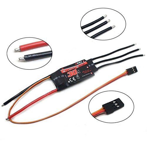 Esc Controllers (YJYdada 1x Emax SimonK 30A Brushless ESC Speed Controller for Multicopter Quadcopter)