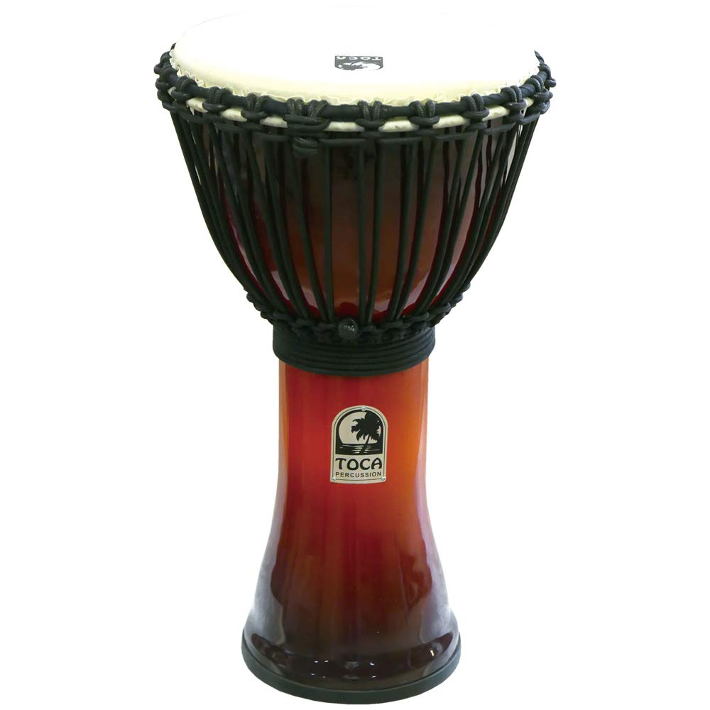 TOCA SFDJ-10AFS Freestyle Roped Tuned Djembe 10 AF SNST ジャンベ   B07DQS6TS4