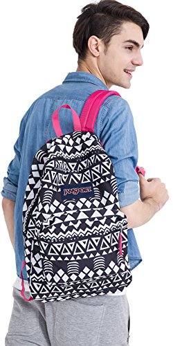 JanSport Unisex SuperBreak Black Geo Graphic One Size by JanSport (Image #4)