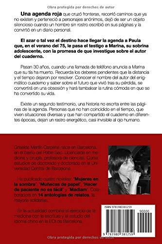 Una agenda roja (Spanish Edition): Griselda Martín Carpena ...