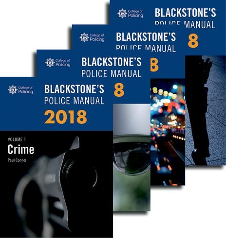 Blackstones police operational handbook 2018 amazon police blackstones police manuals 2018 four volume set fandeluxe Choice Image