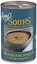 Amy's Mushroom Bisque with Porcini Soup,...