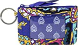 Vera Bradley Women's Iconic Zip ID Case Romantic Paisley One Size