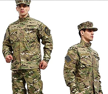 Conjunto de uniforme militar de camuflaje, casaca + pantalones de ...