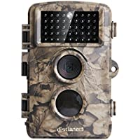 [Upgraded] Distianert 12MP 720P Game Camera Trail Camera Infrared No Glow Night Vision 65ft Waterproof IP56 with 44pcs 940nm IR LEDs