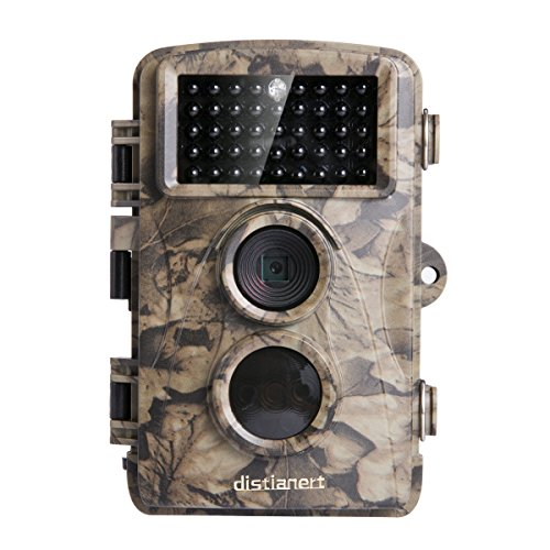 Distianert 12MP 720P Game Camera Trail Camera Infrared No Glow Night Vision 65ft Waterproof IP56 with 44pcs 940nm IR (Ir Game)