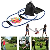 Water Balloon Launcher,Foonee Fun Water Balloon Slingshot/Cannon/Catapult with 100 Water Balloons Outdoor Game for Kids and Adults