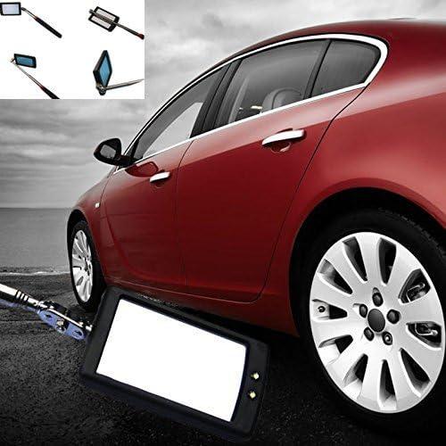 Qiilu Miroir t/élescopique Voiture T/élescopique Inspection Miroir Extensible D/étection Lentille Ronde Outil /À Main A: 50X600mm
