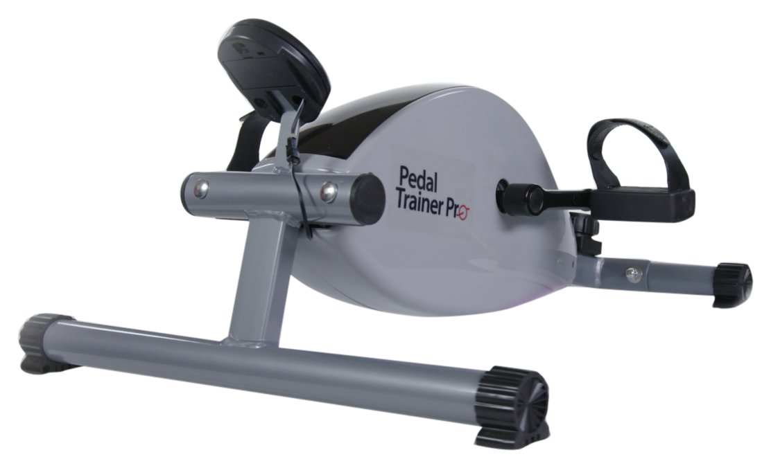 Pedal Trainer Pro, Stationary Exerciser, Gray