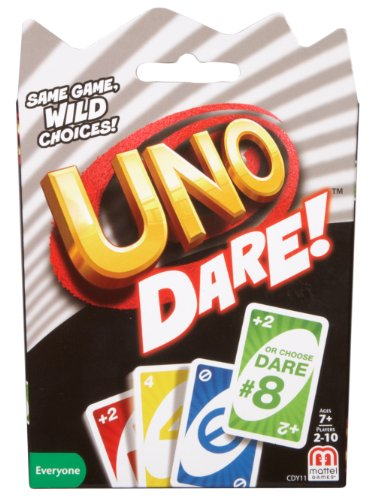 (Mattel Games UNO Dare Card Game)