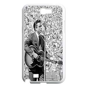 Johnny Cash Wholesale DIY Cell Phone Samsung Galaxy Note2 N7100/N7102 , Johnny Cash Samsung Galaxy Note2 N7100/N7102 Phone Case