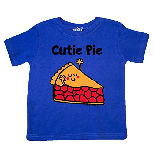 inktastic - Cutie Pie Toddler T-Shirt 5/6 Royal Blue - Flossy and Jim 2c1ab