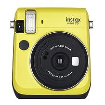 Fujifilm Instax Mini 70 - Instant Film Camera, Canary Yellow