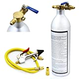 Simply Silver - Air Conditioner System - A/C AC Air Conditioner System Flush Canister Gun Kit R134 R12 R22 R410 R404